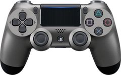 Геймпад Sony Dualshock 4 v2  (Steel Black, Черный) (PS4)