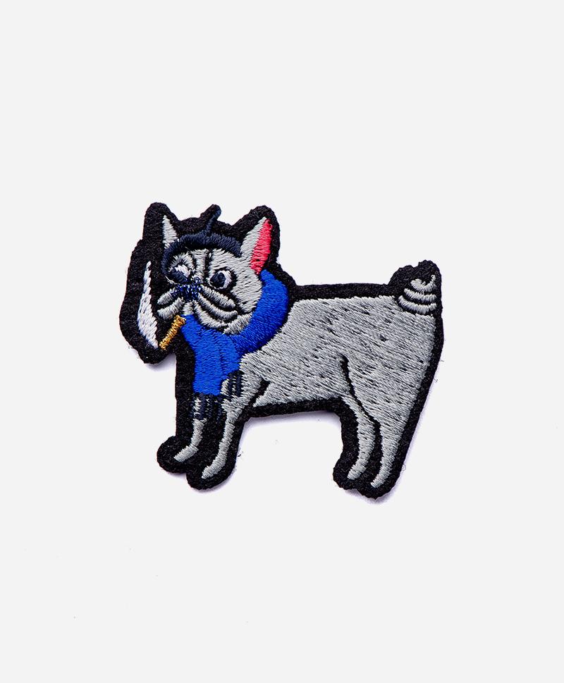 Патч-заплатка Smoking dog