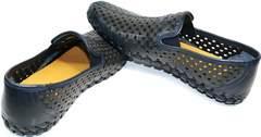 Летние темно синие туфли мужские Vasari trend Firenze N-1937 2074