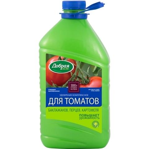 Добрая сила удобрение универсальное для томатов, баклажанов и сладкого перца 3л