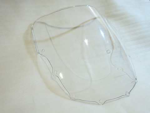 Ветровое стекло прозрачное Kawasaki ZZR 400 93-07 ZZR 600 93-04