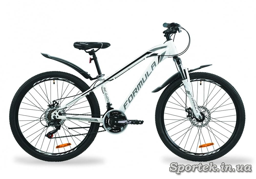 Горный универсальный велосипед Formula Dakar AM DD бело-черный