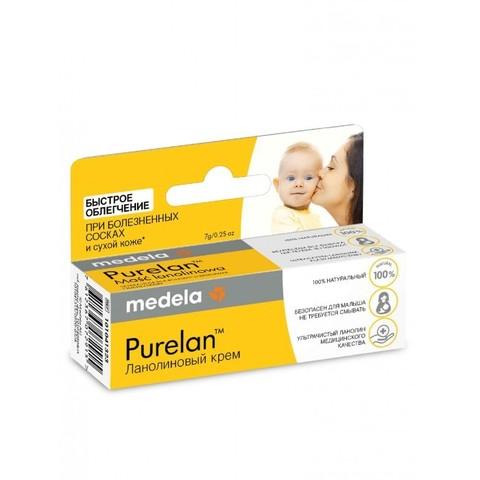 Medela. Ланолиновый крем для сосков и сухой кожи Purelan 7г