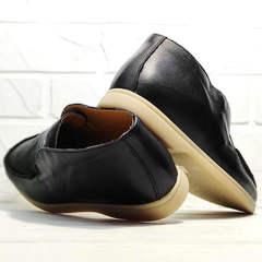 Туфли лоферы высокие женские Rozen 6023+1 «Loro Piana».