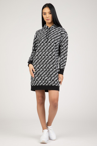 Женское платье Calvin Klein LOGO AOP OVERSIZED HWK DRESS