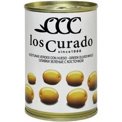 Los Curado  Оливки зеленые с косточкой,  300 г