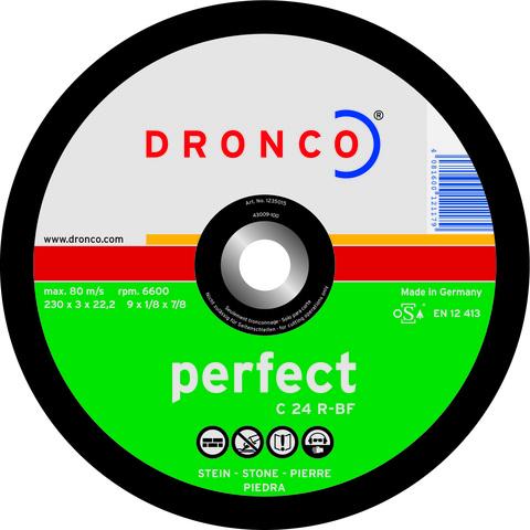 Абразивный отрезной диск Dronco CS24R 230x3