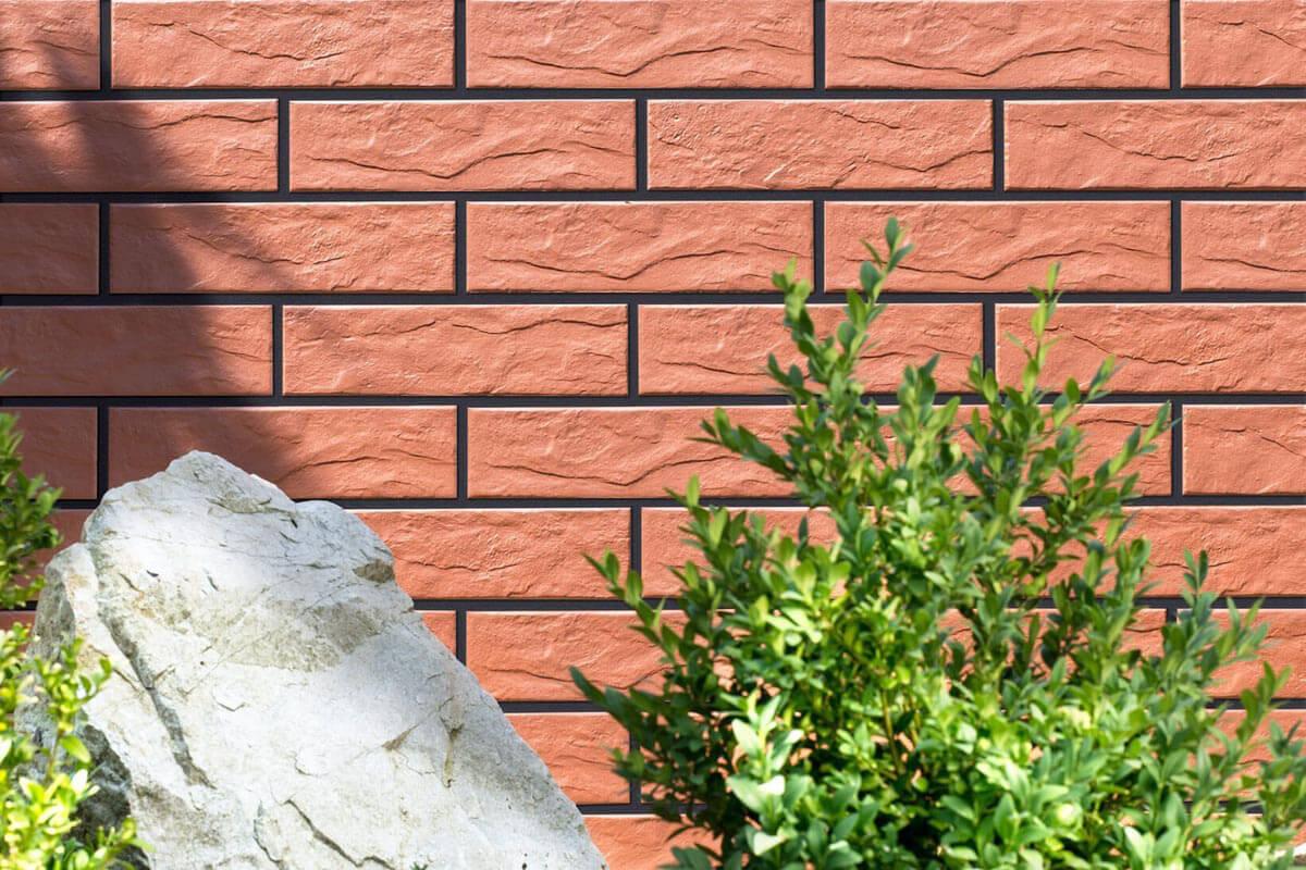 Cerrad Rott/Rot, rustiko, 245x65x6.5 - Клинкерная плитка для фасада и внутренней отделки