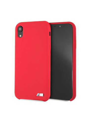 BMW / чехол для телефона iPhone XR | M-Collection Liquid silicone Hard TPU Red