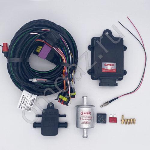 Электр. часть SAVER 714 с проводкой и сенс 4 цил