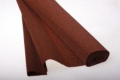 Бумага гофрированная коричневая (568)