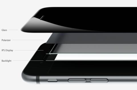 Нижняя поляризационная пленка для IPhone 5/5c/5s/6/6 plus/6s/6s Plus (зеркало)