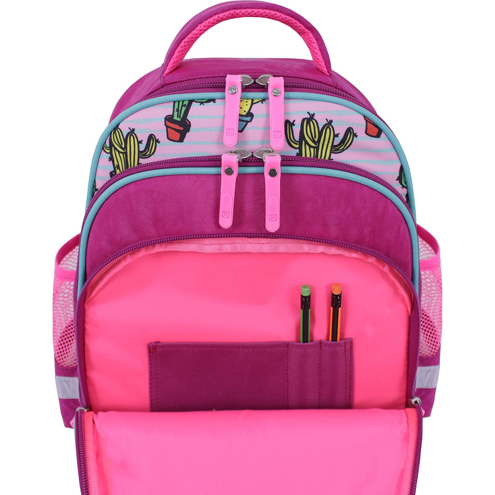 Рюкзак школьный Bagland Mouse 143 малиновый 617 (0051370) фото 5