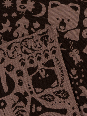 Таёжные Тропы – бурые тона № 4.2 (Без бахромы)