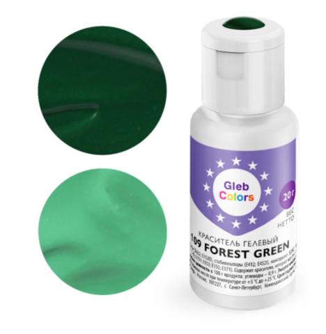 Краситель гелевый Cake Colors 109 Лесной зеленый, 20г