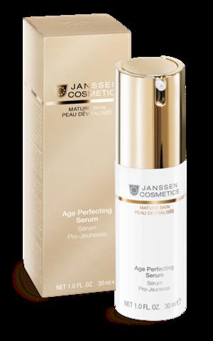 Сыворотка Anti-age разглаживающая и укрепляющая с комплексом Cellular Regeneration, Janssen Age Perfecting Serum,30 мл