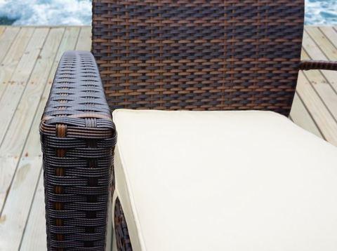 Кресло Милан, цвет темно-коричневый