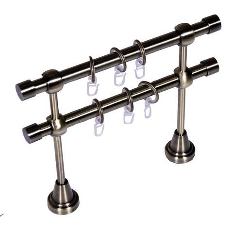 Карниз Кованый Золото Антик 3.0м (гладкая труба D16)