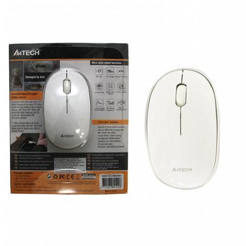 Мышь беспроводная G7-555D белый A4TECH