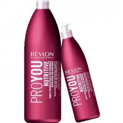 REVLON ProYou Nutritive: Шампунь для волос увлажняющий и питательный (ProYou Nutritive Shampoo), 350мл/1л