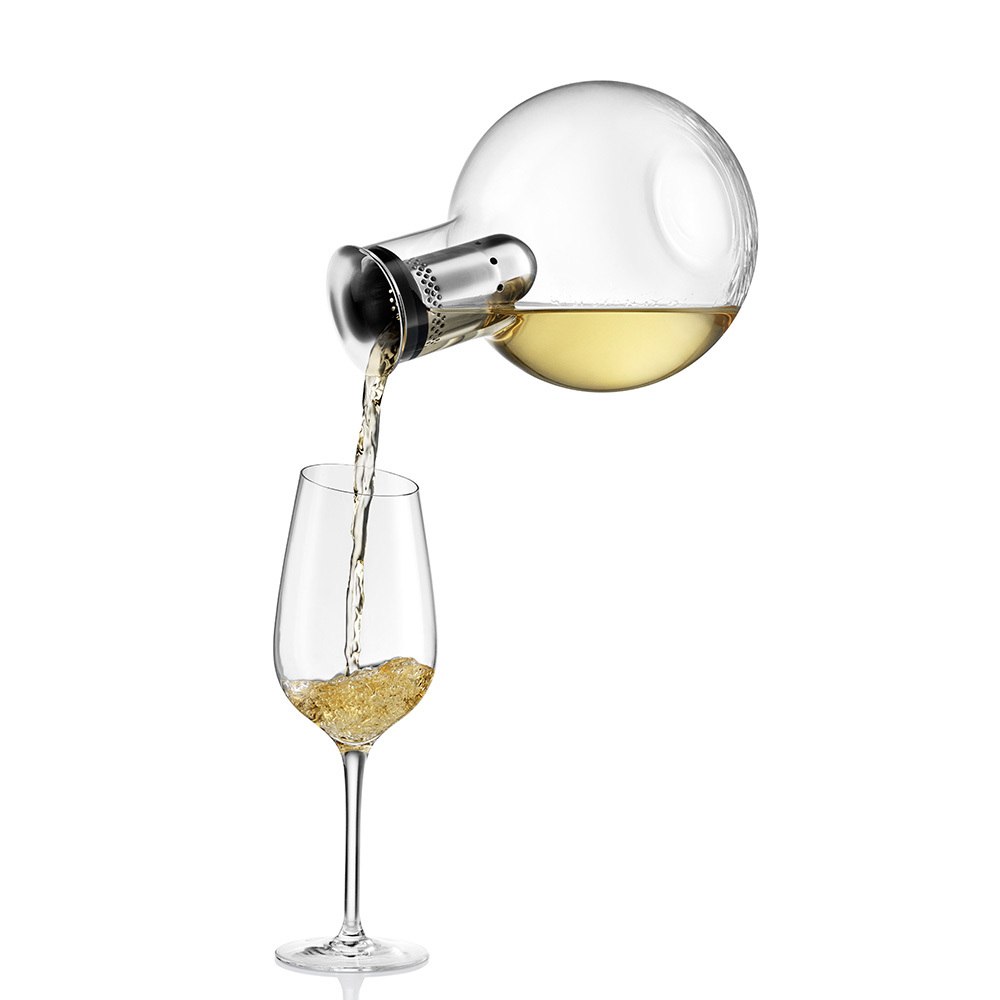 Декантер для вина с охлаждающей подставкой