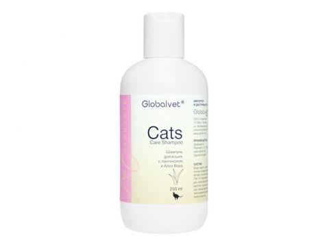 Cats Care шампунь для кошек с Пантенолом и Алоэ Вера 250 мл.