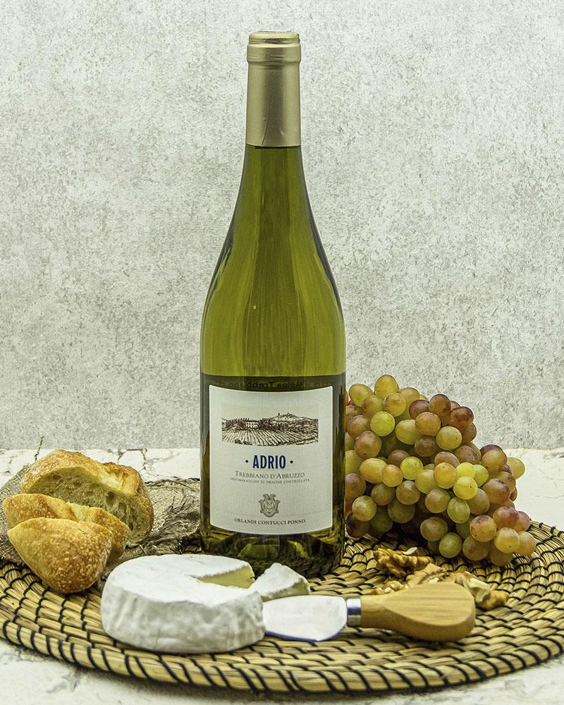Вино Agricolle Gussalli Beretta Орланди Контуччи Понно Адрио Треббиано д'Абруццо Белое Сухое 12,5% 0,75 л.