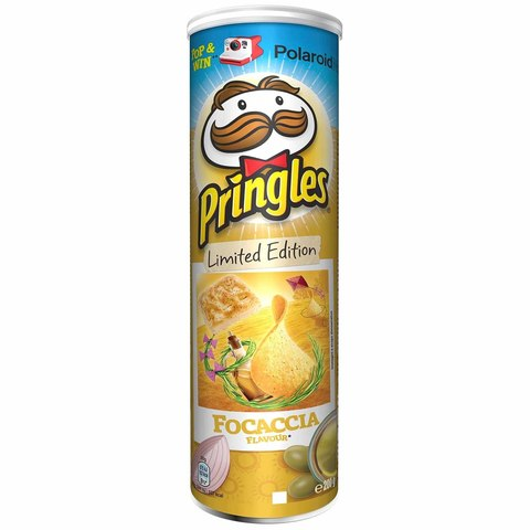 Чипсы Pringles Focaccia Big Size Принглс Фокачча 200 гр