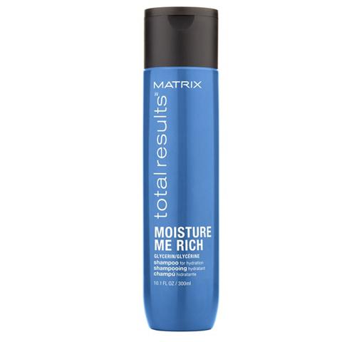 Matrix Total Results Moisture Me Rich: Шампунь для увлажения сухих волос с глицерином (Moisture Me Rich Shampoo), 300мл/1л