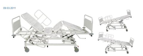 Кровать медицинская КМ-1 - фото