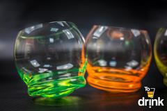 Набор цветных стаканов для воды Crystalex Crazy, 390 мл, 4 шт, фото 7