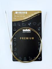 Спицы круговые супергладкие металлические Addi 100 см 3 мм