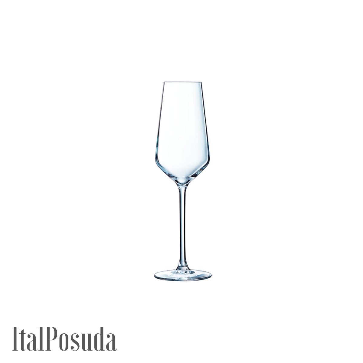 Набор фужеров для шампанского Eclat Cristal d'Arques Ultime (Ультим), 6 шт N4307