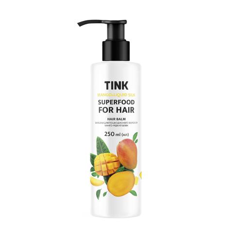 Бальзам для пошкодженого волосся Манго-Рідкий шовк Tink 250 мл (1)