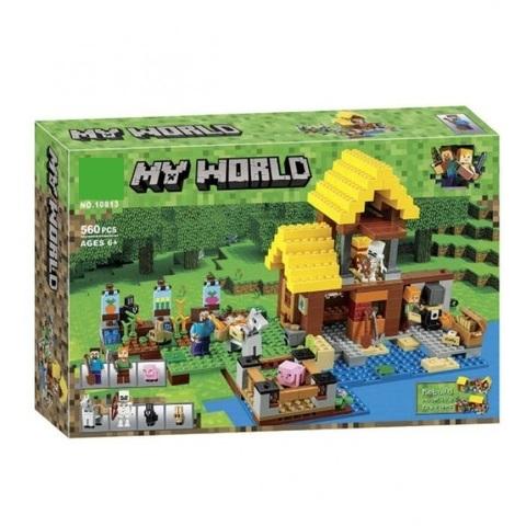Конструктор My World 10813 Фермерский коттедж