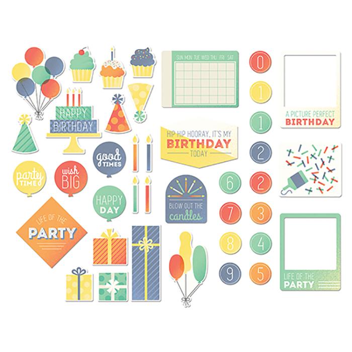 Набор высечек Cakes&Candles