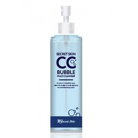 Secret Skin CC Bubble Multi Cleanser средство для снятия макияжа, ВВ и СС кремов (гидрофильное масло + очищающая пенка)