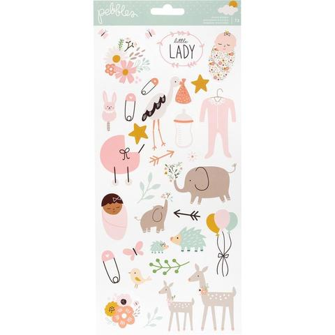 Наклейки Peek-A-Boo You Cardstock Stickers 6