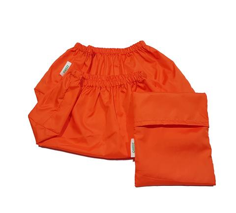 Многоразовые бахилы ZEERO Dewspo с мешочком р.34-38, оранжевые