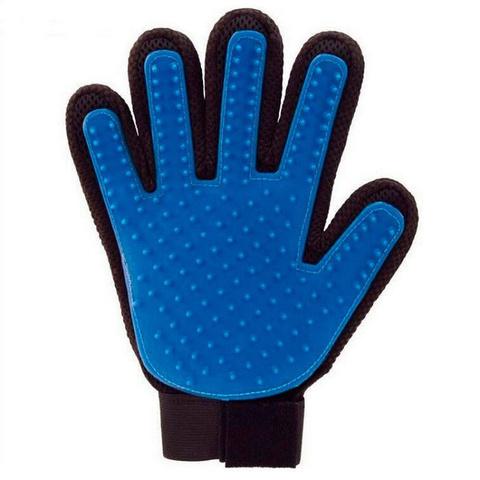 Перчатка для вычёсывания шерсти домашних животных