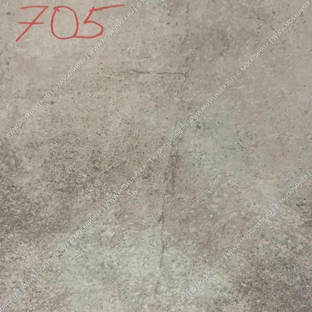 Stroeher - Keraplatte Aera Т 705 beton 294x294x10 артикул 8031 - Клинкерная напольная плитка