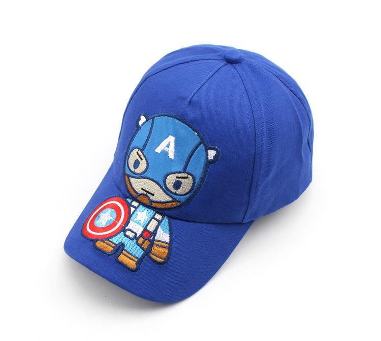 Супергерой бейсболка детская Капитан Америка