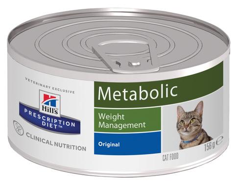 купить хиллс Hill's™ Prescription Diet™ Feline Weight Managemen wiht Chicken консервы (влажный корм) для взрослых кошек, диетический рацион для коррекции веса
