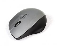 Мышь беспроводная ONE SBM-309AG-SK серебро-черный SMARTBUY