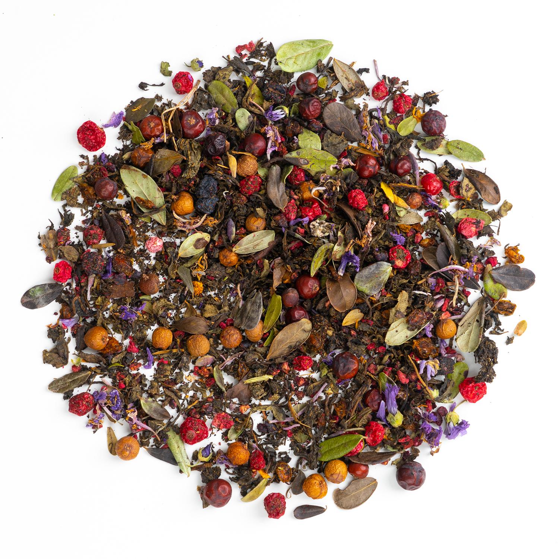 """Травяной эко чай """"Лесные Ягоды"""" травяной эко чай с ягодами, 100 гр Иван_чай_лесные_ягоды_.jpg"""