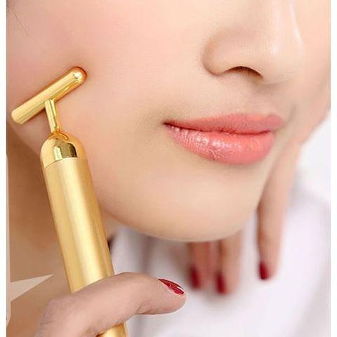 Revoskin Gold- Energy Beauty Bar - Ионный вибромассажер