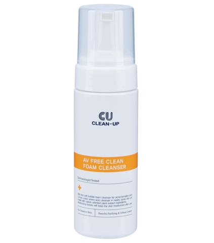 Пенка для Умывания  CLEAN-UP AV Free Clean Foam Cleanser