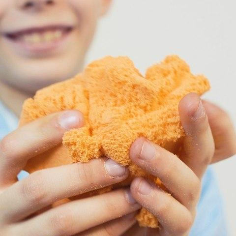 ZEPHYR (Зефир) - Огненный Лис, кинетический пластилин оранжевый 150 гр