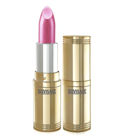 LuxVisage Губная помада  LUXVISAGE тон 02 розовый с жемчужно-розовым перламутром