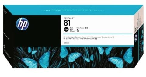 Картридж струйный HP C4930A 81 черный